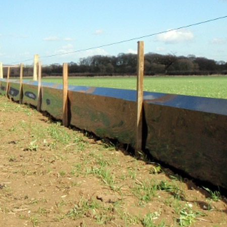 Semi-Permanent Newt Fencing